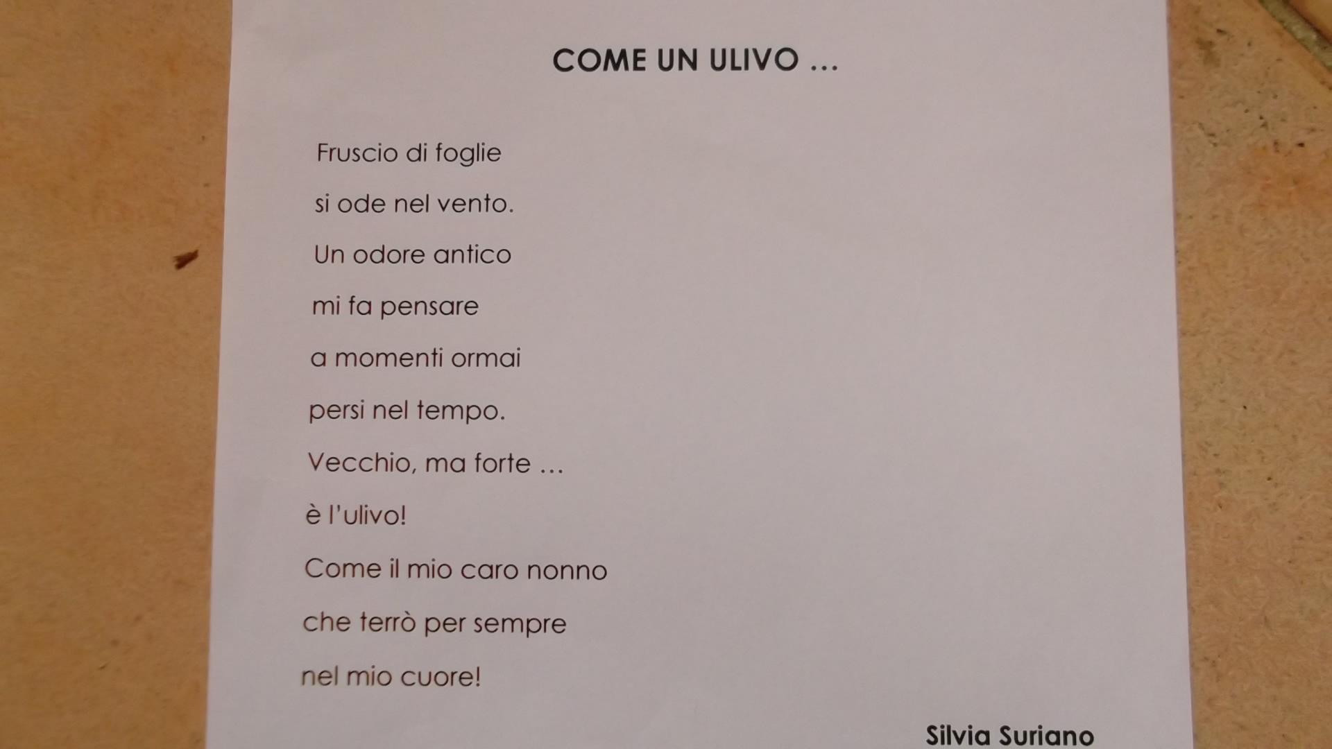 Famoso Poesie Sui Nonni Scuola Primaria IZ07 » Regardsdefemmes RF73