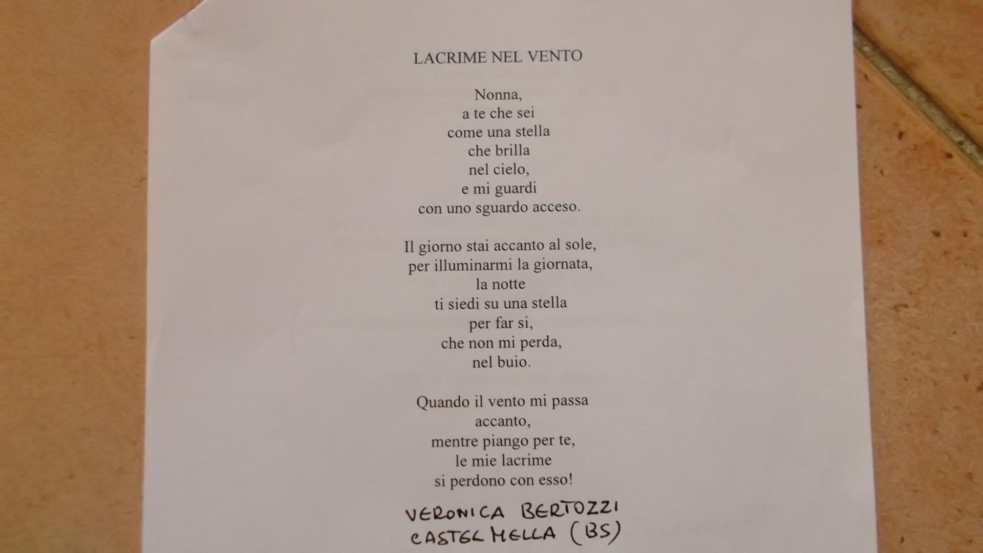 Eccezionale Poesie Sui Nonni Scuola Primaria IZ07 » Regardsdefemmes TO22
