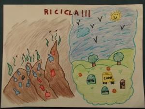 """""""RICICLIAMO CON LORAX!"""" LO DICONO I DISEGNI DEGLI ALUNNI DELLA SCUOLA """"S.MICHELE"""" DI TORINO, CHE HANNO GIA' INVIATO I LORO ELABORATI..."""