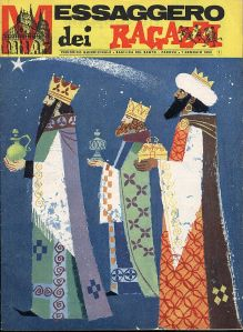 Messaggero dei Ragazzi, copertina (1963)