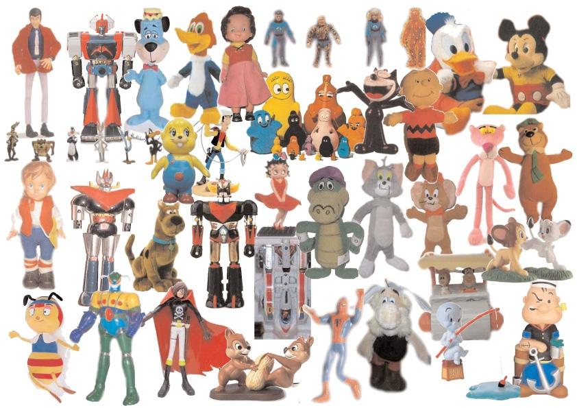 """Fenomeni quando i """"cartoons diventano pupazzi gli anni"""