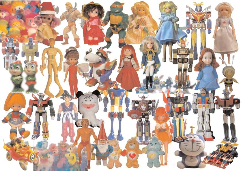 """Fenomeni bambole pupazzi e modellini dei """"cartoons"""