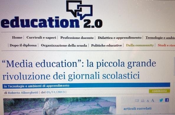 Education 2.0 articolo di Roberto Alborghetti