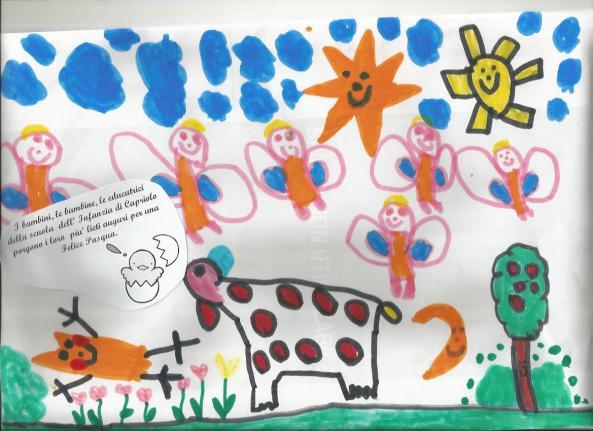 Auguri dai bimbi della Scuola d'Infanzia di Capriolo