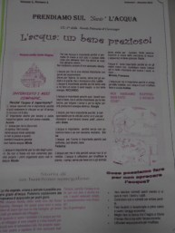 Scuola Primaria Cavernago Bg Giornalino (1)