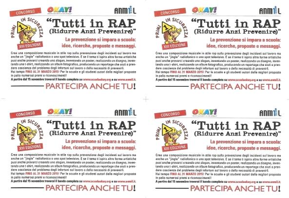 Primi in Sicurezza 2014-2015 Cartoline