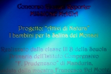 Ics Prudenzano, VIDEO, Manduria TA