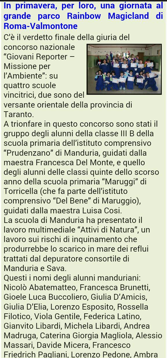 MANDURIA OGGI 0