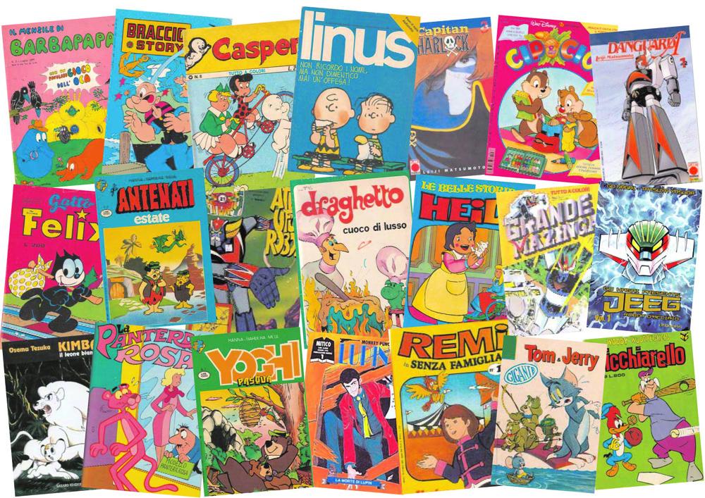"""Fenomeni il """"boom dei fumetti """"cartoons da"""