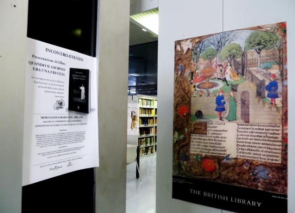 L'incontro di Firenze pubblicizzato anche a Roma, negli ambienti della Biblioteca Nazionale (Foto di P. Calabrese)