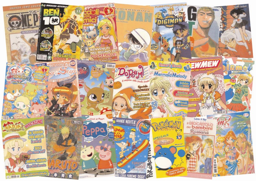 Emittenti private e i cartoni animati giapponesi mondo japan