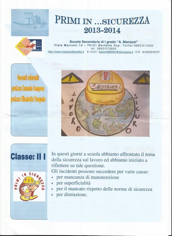 Scuola Sec. I Manzoni Barletta  (1)