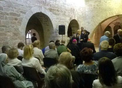 Assisi Museo S. Rufino - Presentazione Francesco 26 6 2015 (12)