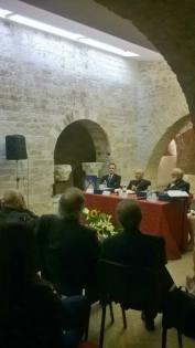 Assisi Museo S. Rufino - Presentazione Francesco 26 6 2015 (17)