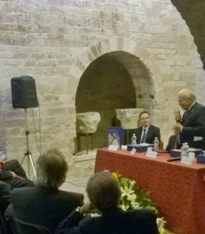 Assisi Museo S. Rufino - Presentazione Francesco 26 6 2015 (18)