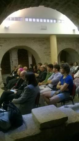 Assisi Museo S. Rufino - Presentazione Francesco 26 6 2015 (6)