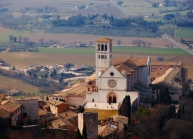 Assisi, town of Saint Francis and beautiful architecture.