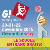 G COME GIOCARE banner