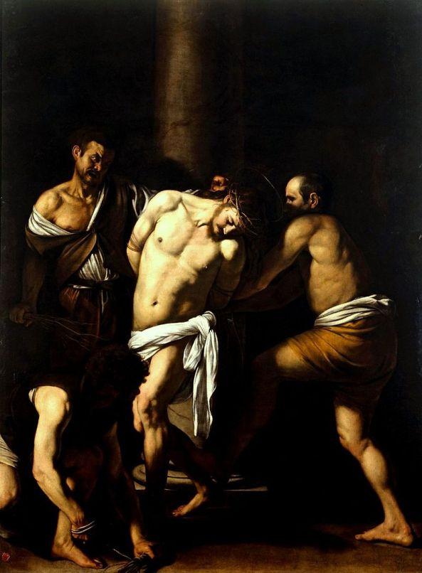 800px-Caravaggio_-_La_Flagellazione_di_Cristo