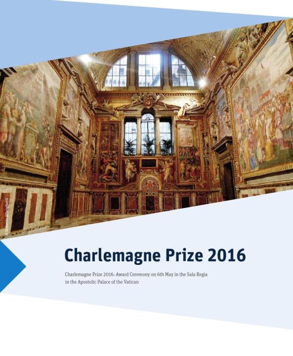 CHARLEMAGNE PRIZE  SALA REGIA by ROBERTO ALBORGHETTI
