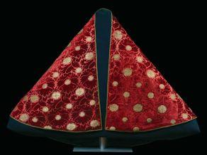 cm 124x228, altezza del tessuto cm 58, rapporto col disegno cm 20x57,5, inv. Collezione Carrand n. 2340