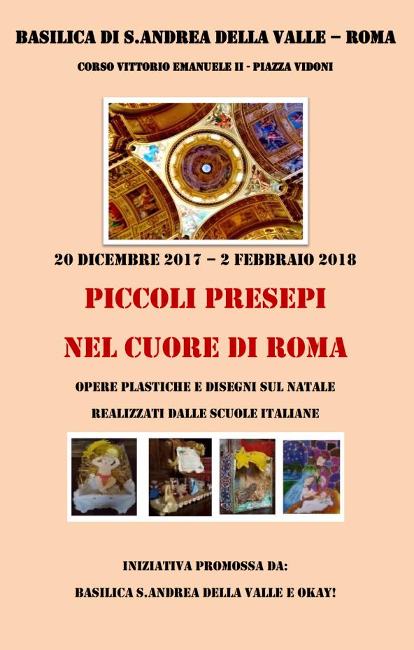 POSTER PICCOLI PRESEPI ROMA