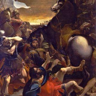 Ludovico Carracci, Conversione di Saulo