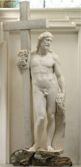 Michelangelo Cristo risorto Giustiniani