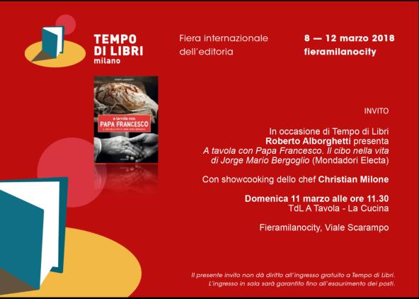 Tempo di Libri 11 marzo Invito