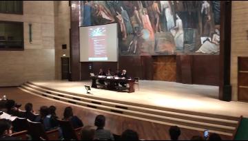 aula magna La Sapienza Roma