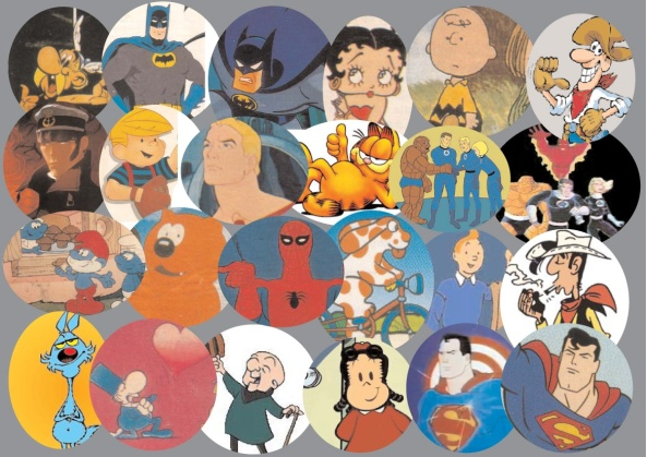 fumetti e cartoni