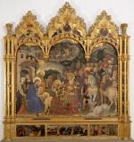 Gentile da Fabriano Adorazione dei Magi Inv. 1890 N.8364