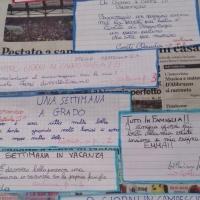 ESPERIENZE / ALLA PRIMARIA DI PICO (FR) LA BACHECA DELLA SCRITTURA CREATIVA