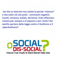 SOCIAL O DIS-SOCIAL?/ TUTTO CIO' CHE SI POSTA, NON SI SPOSTA...