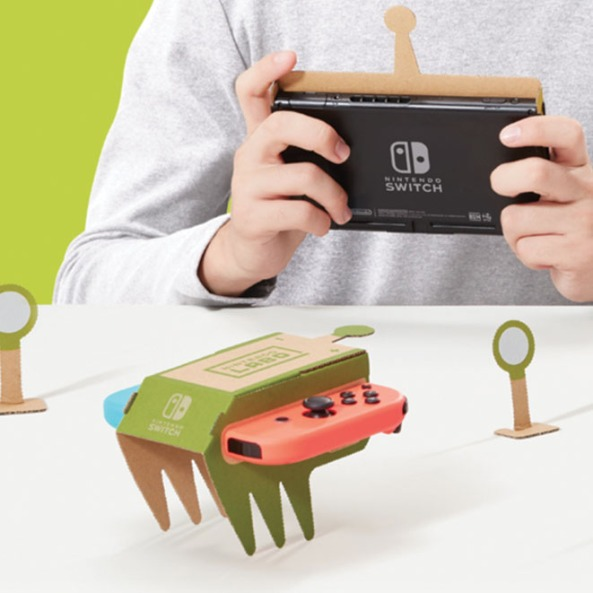 Nintendo Labo Toy-con_Macchinina