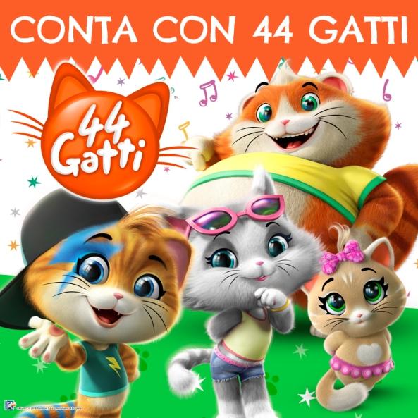 CONTA CON 44 GATTI