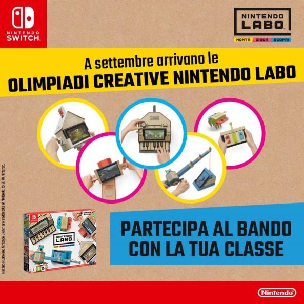 banner teaser NINTENDO LABO