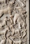 Adamo nel Paradiso terrestre (particolare dal Dittico Denon) Arte italiana di fine IV sec