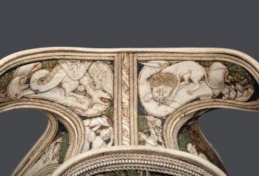 Sella da Parata (particolare) 1425-1450