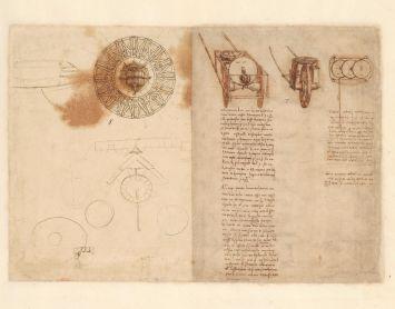 01 Leonardo da Vinci Codice Atlantico
