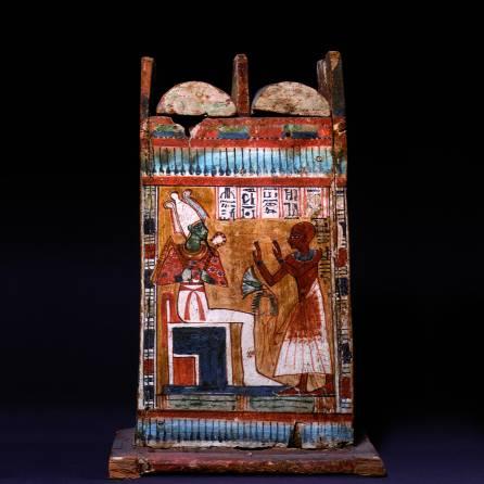 Cassetta per ushabti di Nekhtamontu_1550-1070 a.C.