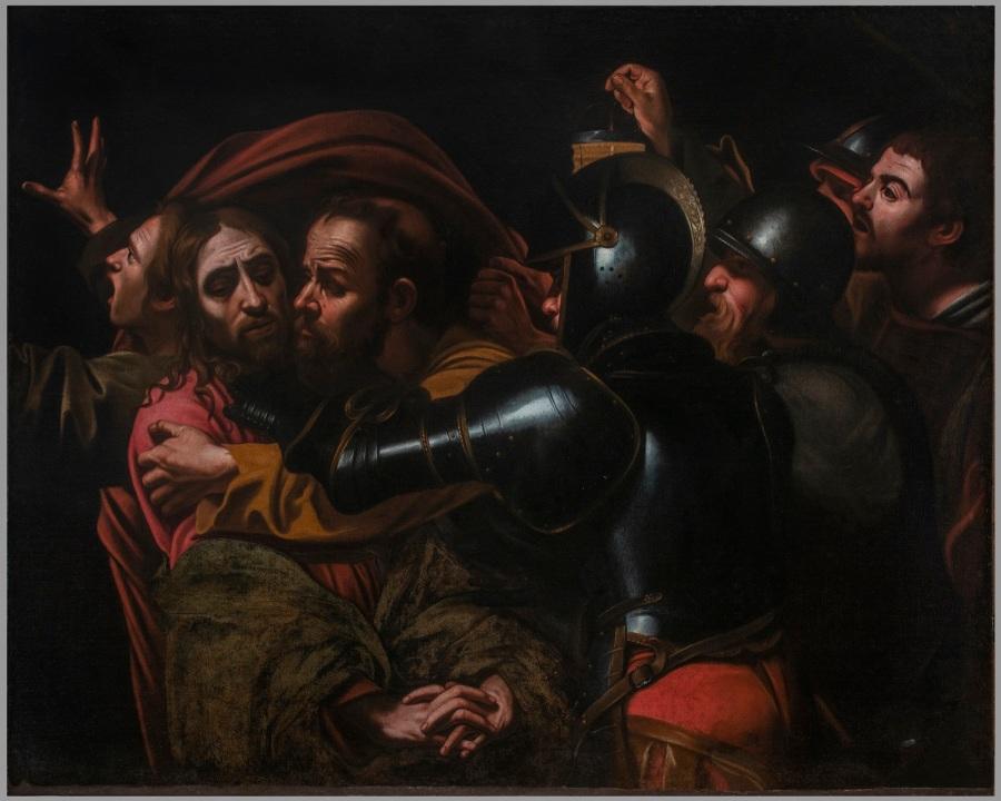 Galleria degli Uffizi, Caravaggesco, Cattura di Gesù