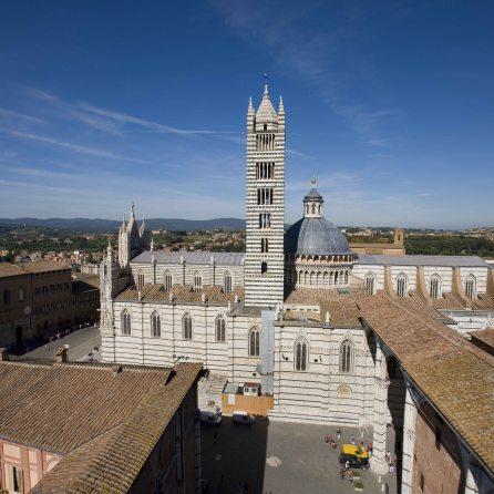 Vista del Duomo dal facciatone