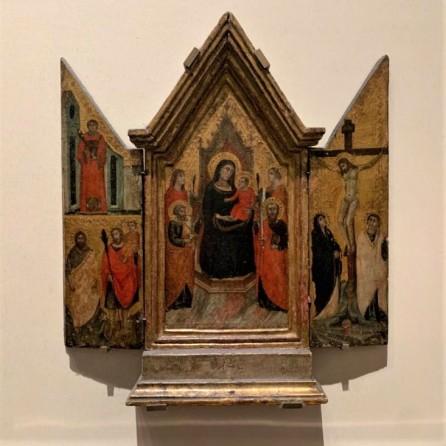 2 - Pacino di Buonaguida (Madonna in Trono)