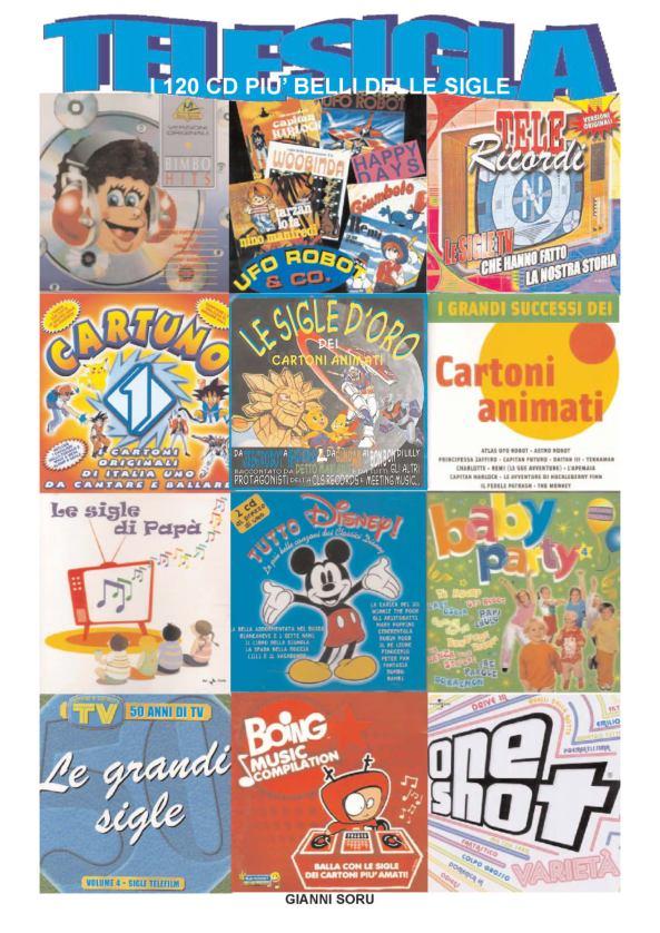 LIBRO I 120 CD PIU BELLI DELLE SIGLE