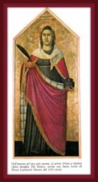 Tavola Pietro Lorenzetti Firenze