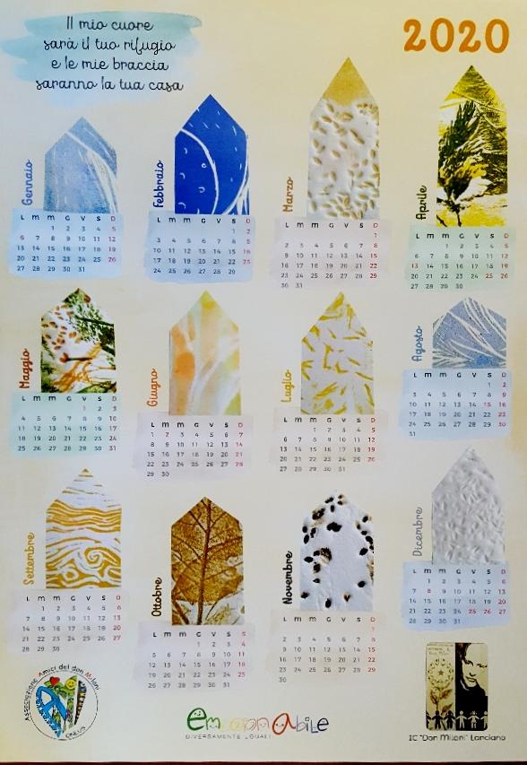 Calendario 2020 IC Lanciano