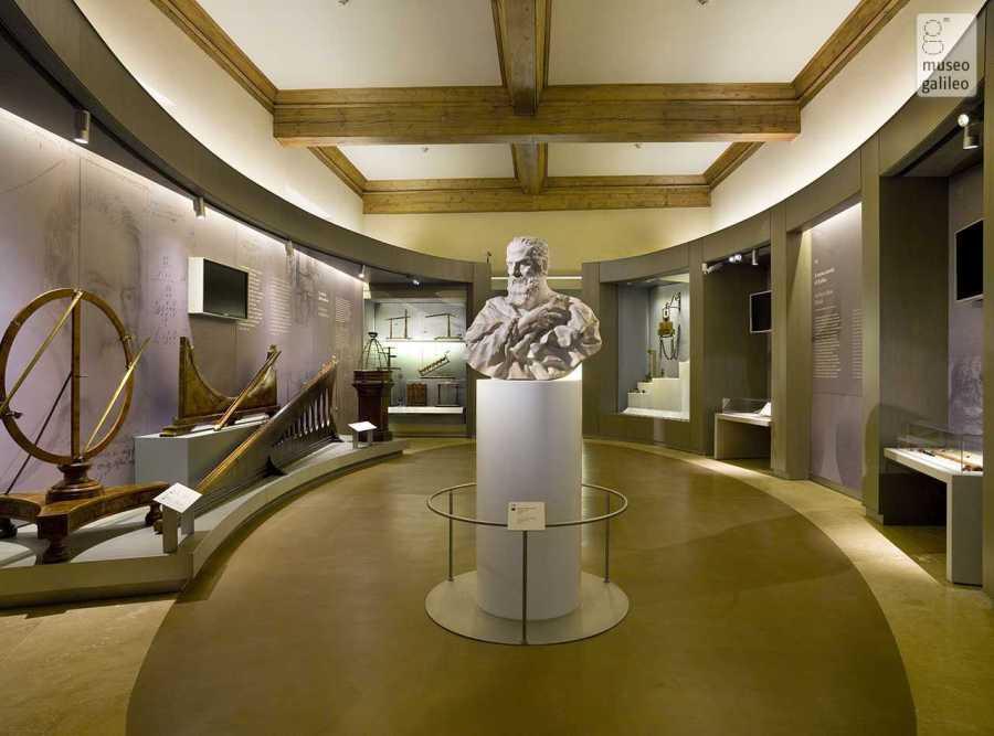 Museo Galileo, Sala espositiva dedicata a Il nuovo mondo di Galileo