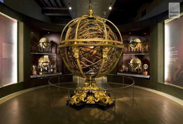 Museo Galileo, Sala espositiva dedicata a La rappresentazione del mondo