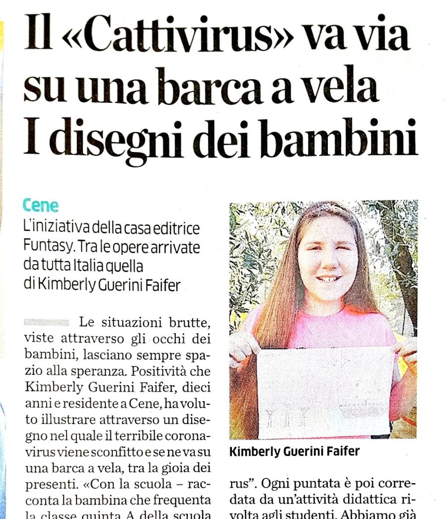 L'Eco di Bergamo Kimberly 11 4 2020 - Copia